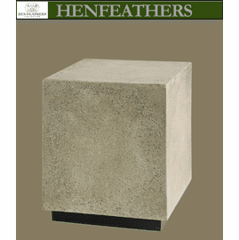 Natural Stone Faux Bois Accent Table