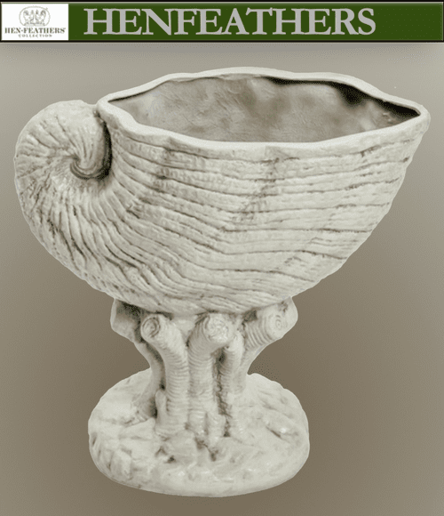 Nautical Shell Planter