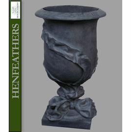 Ribbon Urn - Essex Lead {USA}