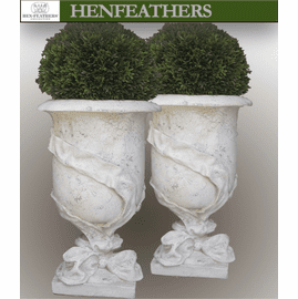 Ribbon Urn Pair {USA}