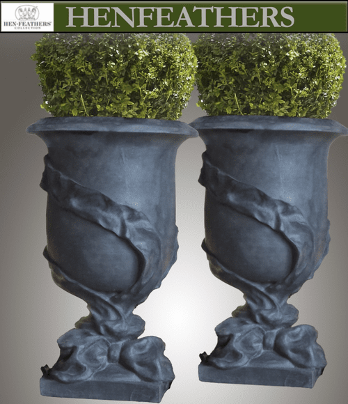 Ribbon Urn Pair ~ Photo Sample