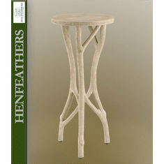 Rivendell Faux Bois Drinks Table (n)