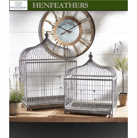 St. Suplice Birdcage Plant Stands - Set of 2