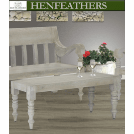 Stanley  Faux Bois Table/Bench