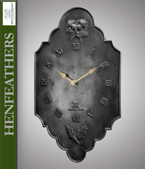 Thistle Clock - French Iron