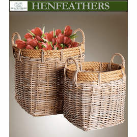 Timber Cove Harvest Baskets - Set of 2