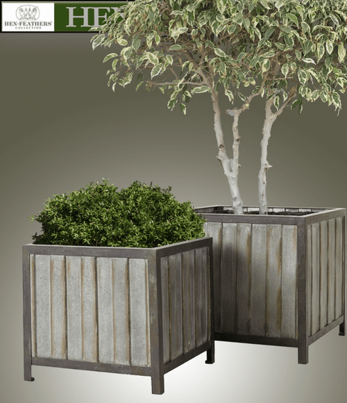 Timber Cove Planters - Set of 2