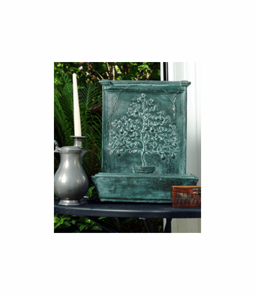 Tree of Life Bronze Tabletop Fountains with Pump