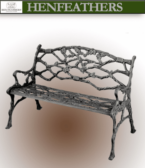 Vintage Branch & Twig Bench {USA}n
