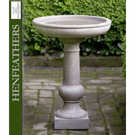 Williamsburg Tea Table Birdbath
