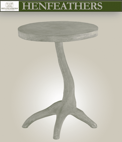 Windswept Accent Table