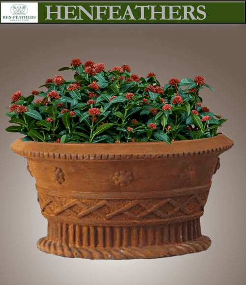 Wine Country Oval Planter {USA}n