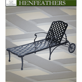Woven Arch Chaise Lounge
