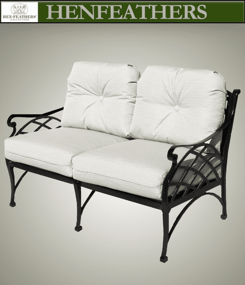 Woven Arch Deep Love Seat
