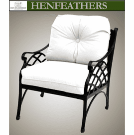 Woven Arch Deep Seat Chair