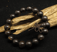 12MM Agarwood Beads Mala Bracelet