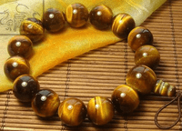 14MM Tiger Eye Wrist Malas