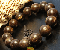 15MM A++ Indian Agarwood Mala Bracelet