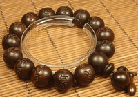 15MM OM Prayer Beads Bracelet