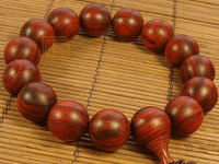 15MM Redsandalwood Tibetan Wrist Malas