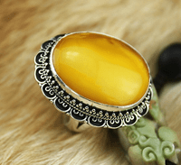 #5.5 Tibetan Old Mila Ring