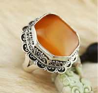 #5 Tibetan Old Mila Ring