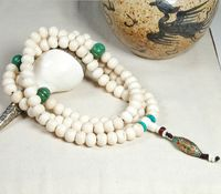 Tibetan Yakbone 108 Beads Mala - Sold Out