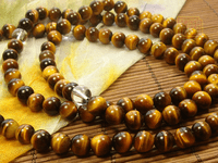 6MM 8MM Tiger Eye Tibetan Malas