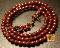 6MM Redsandalwood Tibetan Malas