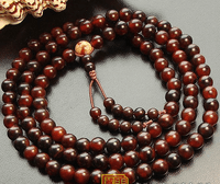 8MM 10MM Bloodstone Buddhist Prayer Malas