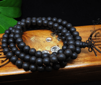 8MM Agarwood 108 Beads Tibetan Mala