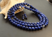 8MM Lapis Lazuli 108 Prayer Beads