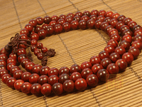 8MM Redsandalwood Buddhist Prayer Beads