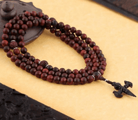 8MM Redsandalwood Longevity 108 Beads Mala