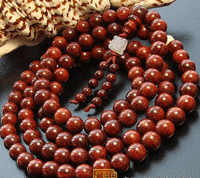 8MM Redsandalwood Malas