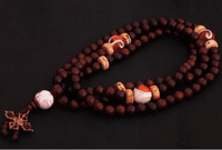 8MM Tibetan Redsandalwood 108 Beads Mala