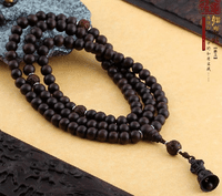 9.5MM Old Redsandalwood 108 Beads Mala