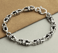 925 Silver Buddhist Dorje Bracelet - Sold Out
