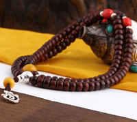 9MM Old Redsandalwood 108 Beads Mala