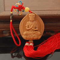 Buddha Statue Amulet Car Decoration