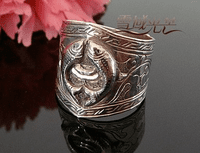 Buddhist Symbol Ring - Sold out