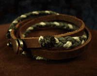Handmade Leather Bracelet - Sold Out