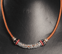 Handmade Leather Necklace