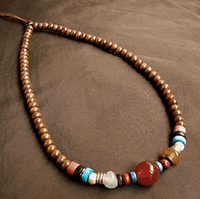 Handmade Leather Necklace - Sold Out