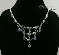 Handmade Tibetan Moonstone Necklace - Sold Out