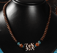 Handmade Tibetan Necklace - Sold Out