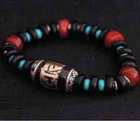 Handmade Tibetan OM Beads Bracelet - Sold out
