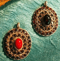 Indian Gemstone Pendant