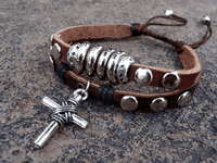 Leather Braided Bracelet