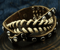 Leather Cuff Bracelet - Sold Out